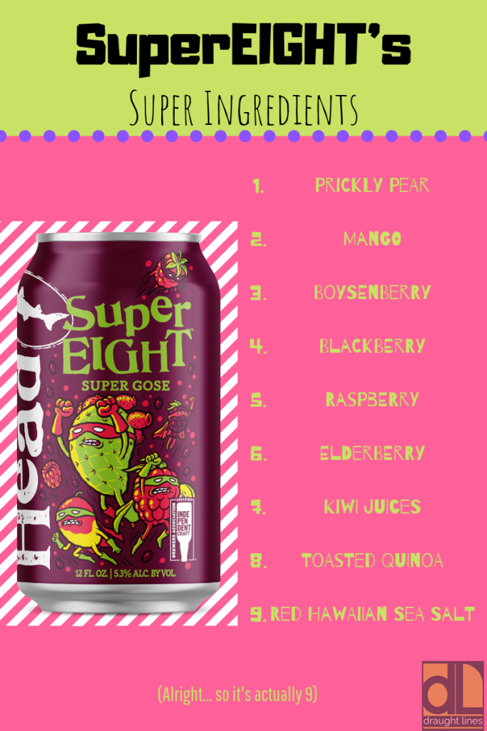 SuperEIGHT's Super Ingredients